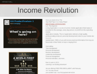 incomerevolution.webs.com screenshot