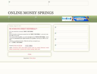 incomesprings.blogspot.com screenshot