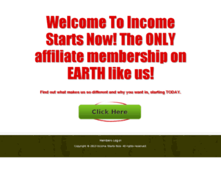 incomestartsnow.com screenshot