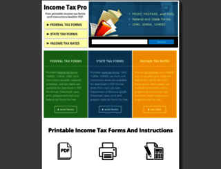 incometaxpro.net screenshot