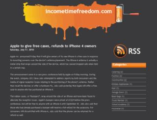 incometimefreedom.com screenshot