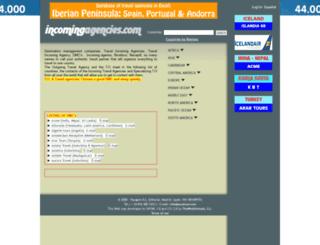 incomingagencies.com screenshot