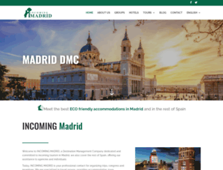 incomingmadrid.es screenshot