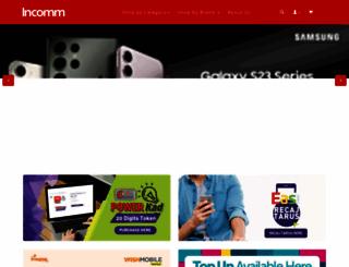 incomm.com.bn screenshot