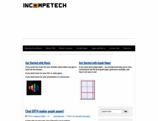 incompetech.com screenshot