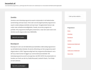 incontxt.nl screenshot