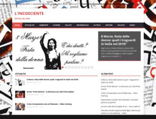 incosciente.altervista.org screenshot