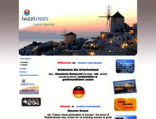 incotours-ltd.com screenshot