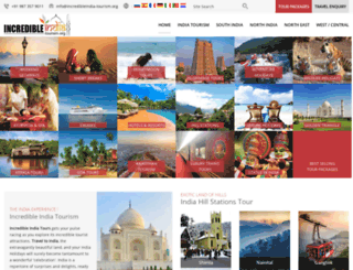incredibleindia-tourism.org screenshot