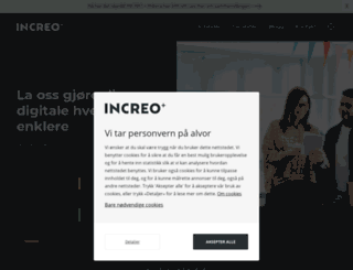 increo.no screenshot