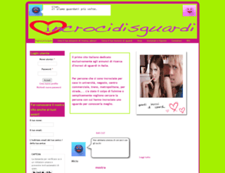 incrocidisguardi.com screenshot
