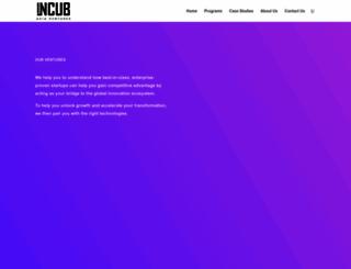 incubasia-ventures.com screenshot