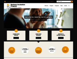 incubator.ucf.edu screenshot