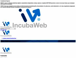incubaweb.net screenshot