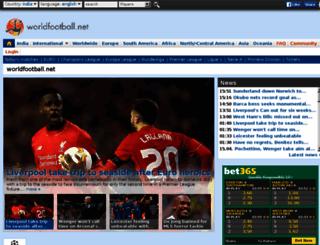 ind.worldfootball.net screenshot