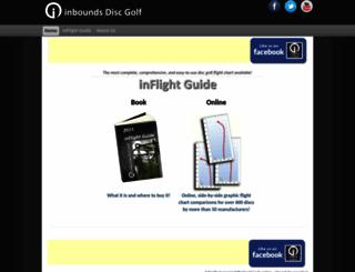 ind02.inboundsdiscgolf.com screenshot