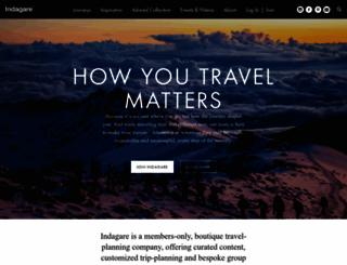 indagare.com screenshot