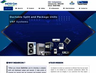 indaircon.com screenshot