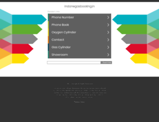 indanegasbooking.in screenshot