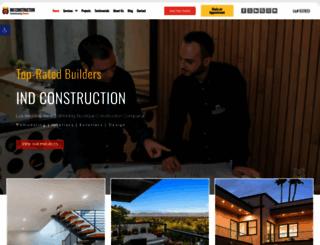 indconstruction.com screenshot