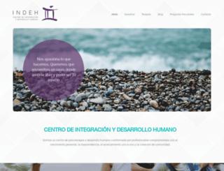 indeh.com.mx screenshot