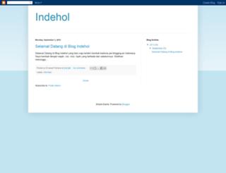 indehol.blogspot.com screenshot