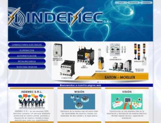 indemecbolivia.com screenshot