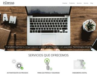 indenova.com screenshot