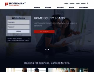 independent-bank.com screenshot