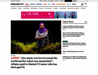 independent.ie screenshot