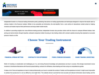 independentinvestor.com screenshot