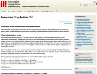 independentliving.org screenshot