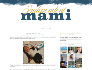 independentmami.net screenshot
