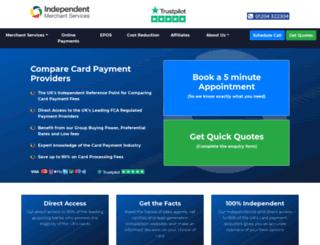 independentmerchantservices.co.uk screenshot