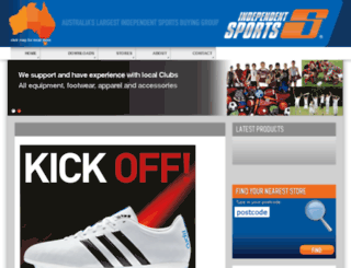 independentsports.com.au screenshot