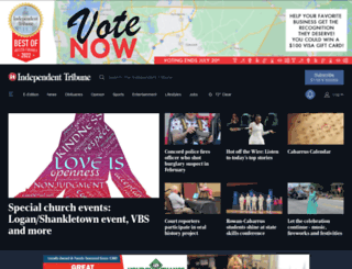 independenttribune.com screenshot