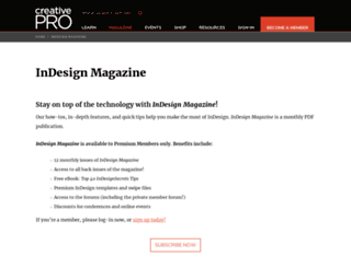 indesignmag.com screenshot