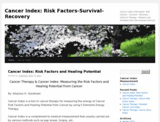 index-cancer.com screenshot