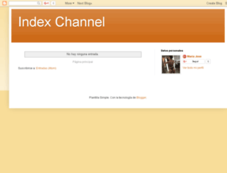 index-channel.blogspot.com screenshot