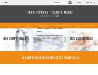 index.feral-avocats.com screenshot
