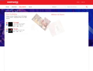 index.wedmantra.com screenshot