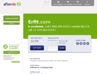 index1.erfit.com screenshot