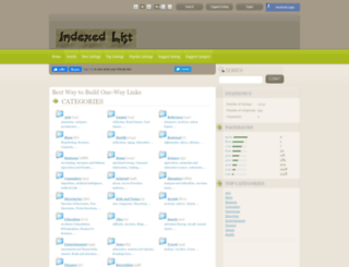 indexedlist.com screenshot