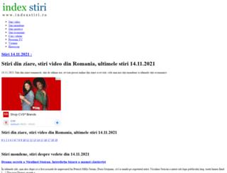 indexstiri.ro screenshot