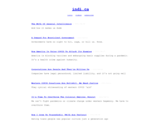 indi.ca screenshot
