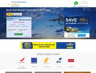 india-airlines.com screenshot