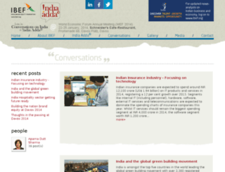 india-davos-blogs.ibef.org screenshot