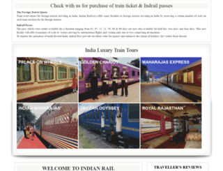 india-rail.com screenshot