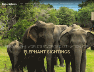 india-safaris.com screenshot