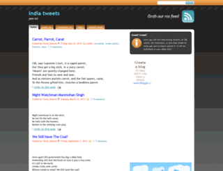 india-tweets.blogspot.com screenshot